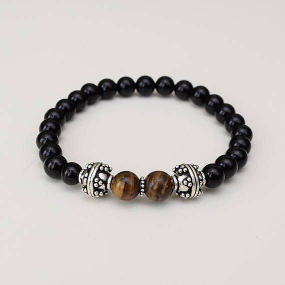 Tigers eye is a protective stone that combines Earth energy with the energy of the sun to create a high vibrational state that is grounded, drawing spiritual energies to Earth. It has traditionally been worn to protect against ill-wishing and curses. It shows the correct use of power