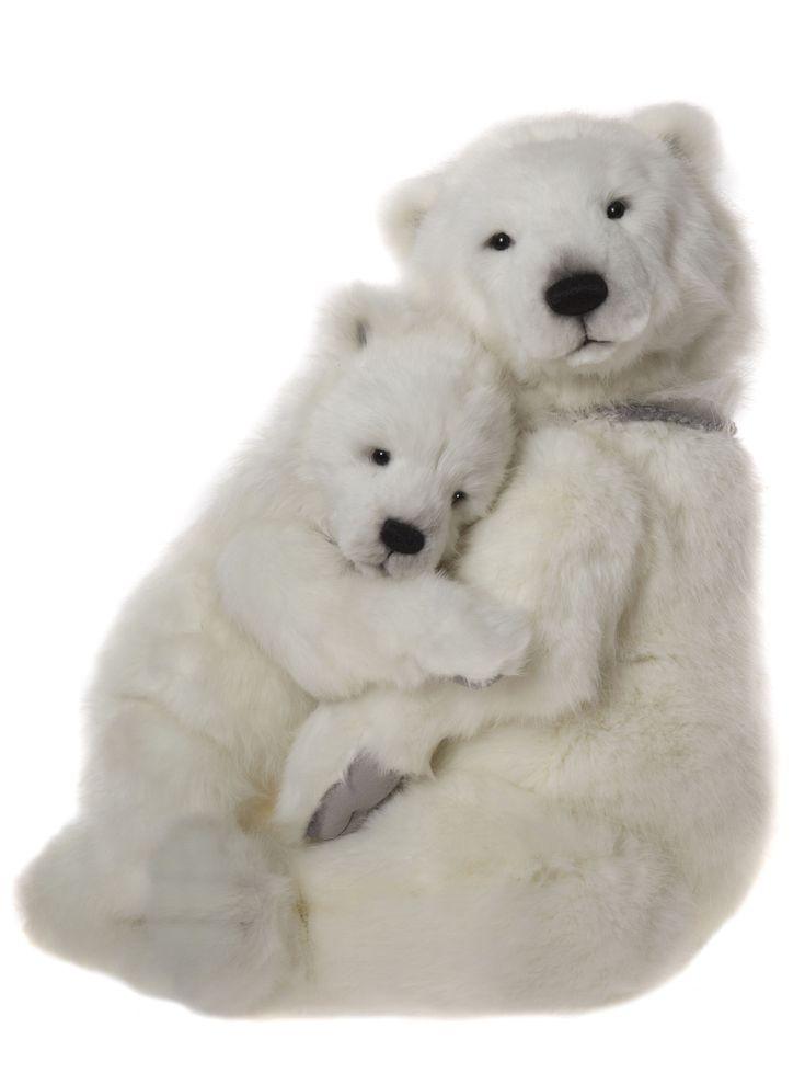 Charlie Bears 2017 Portia and Prema Polar Bears
