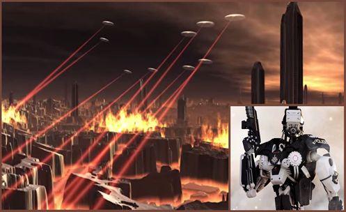 Governo se Utiliza de Suposta Invasão Alienígena para uma Expansão Militar.