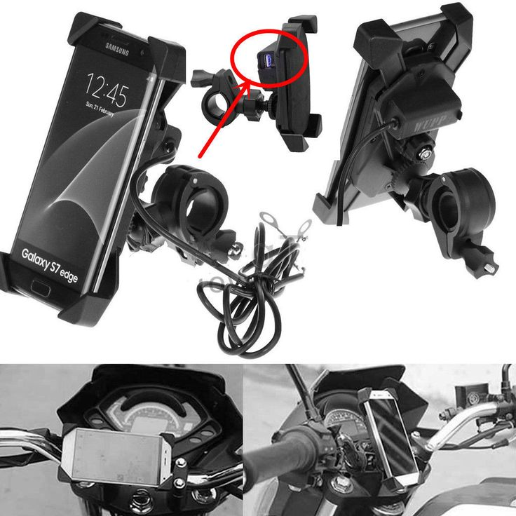 X-Grip Motorcycle Handlebar Mount Holder For Cell Phone