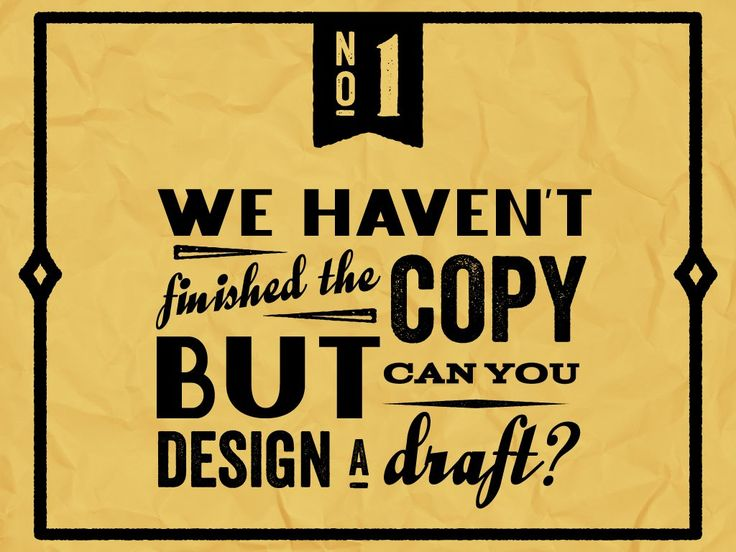 20 Things You Should Never Say To A Graphic Designer But Probably Do