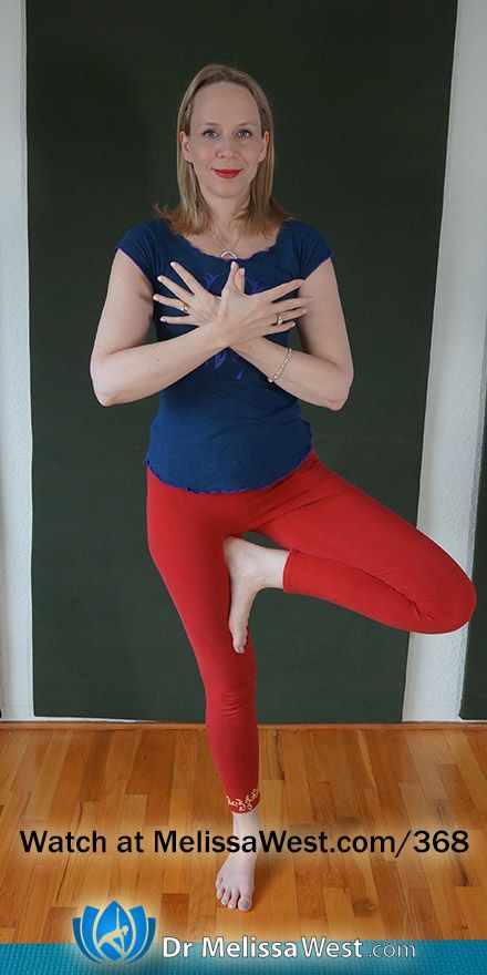 Yoga with Melissa 368: Yoga for Stillness Relief from Nervous Agitation