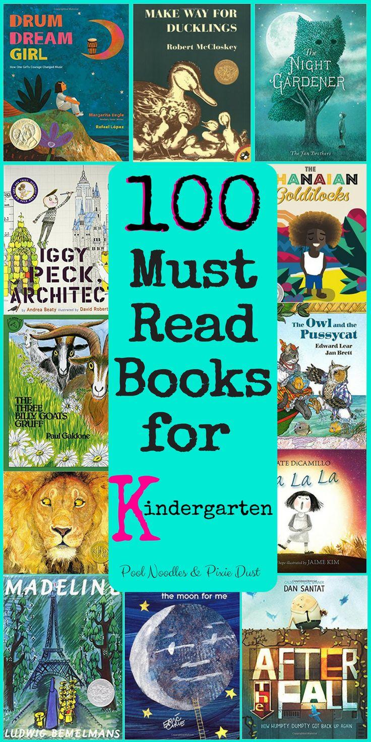 100 must read books for kindergarten pool noodles