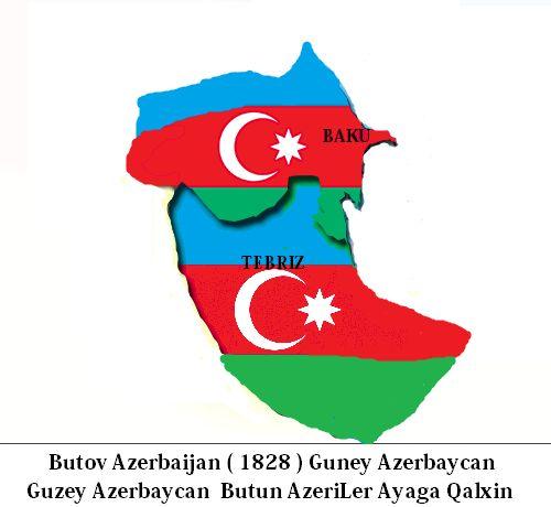 Azerbaycan 1828 - Azerbaijani 1828  Butov Azerbaycan - Can Azerbaycan - Buyuk Azerbaycan