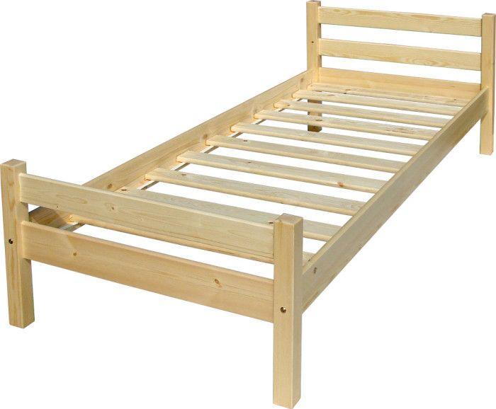Фото 5 - Односпальная деревянная кровать Классик, изготовить подобную которой вполне возможно своими руками