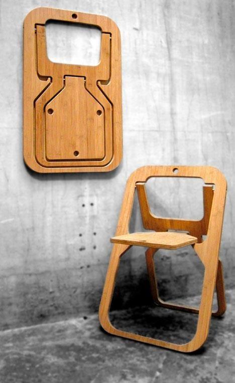 La sedia pieghevole più bella di un quadro.