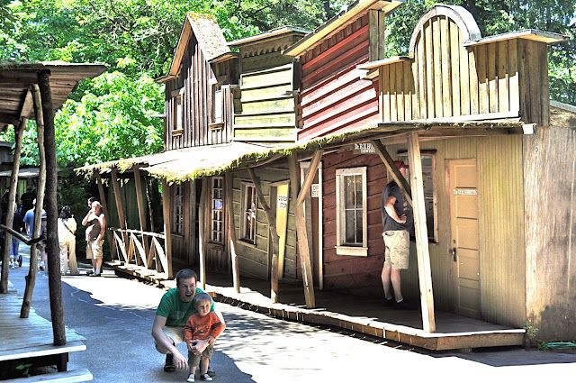 western town for the backyard projects pinterest the