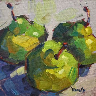 cathleen rehfeld • Daily Painting: fruit