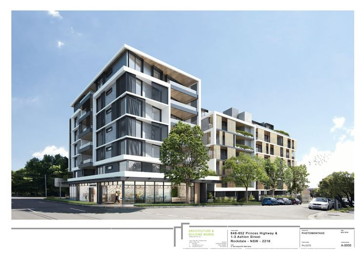 ABW - Architecture: Ashton St, Rockdale  #Montage