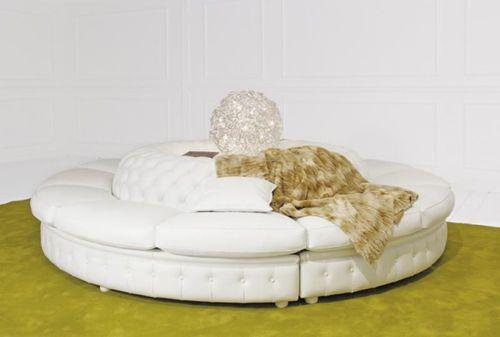 Round sofa / classic style / indoor SENJOR Valdichienti