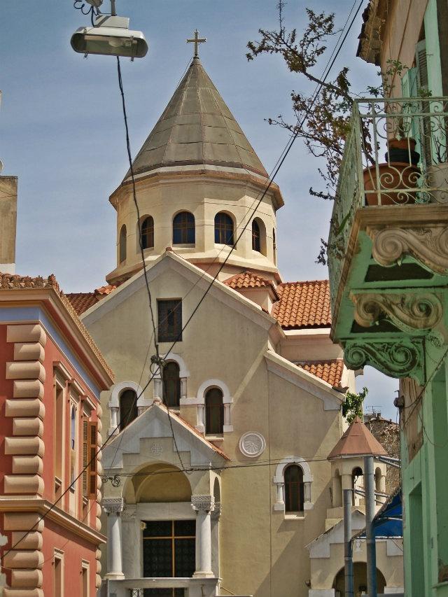 The Cathedral of the Armenian Church of Athens, Agios Gregorios. (Walking Athens, Route 03 - Psiri / Monastiraki)