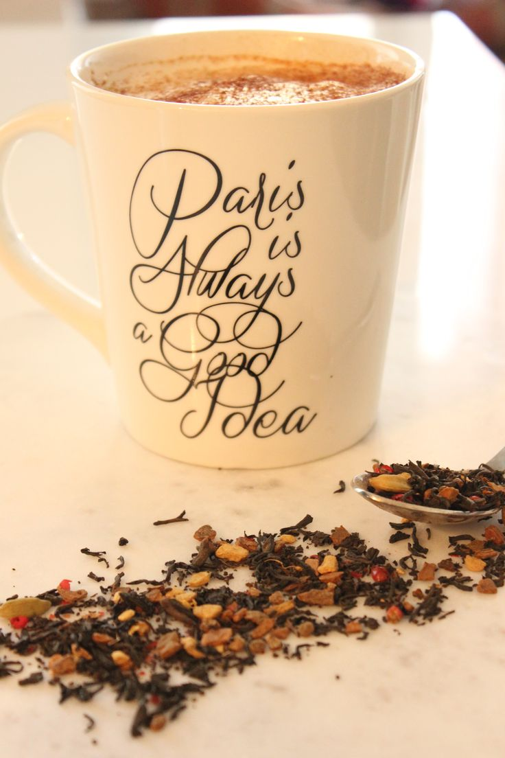 Homemade Chai Tea Latte.. Perfect for that chilly fall day!  http://www.pbandjulia.com