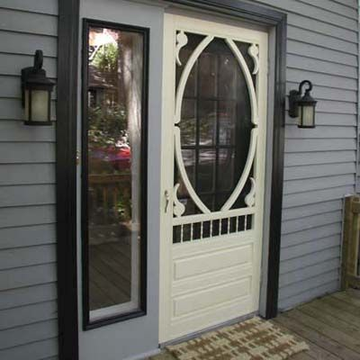 10 best images about curb appeal on pinterest andersen for Front door with storm door
