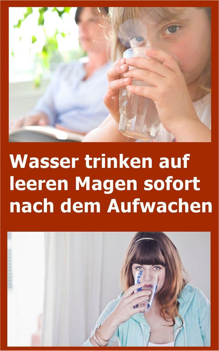 Wasser trinken auf leeren Magen sofort nach dem Aufwachen | njuskam!