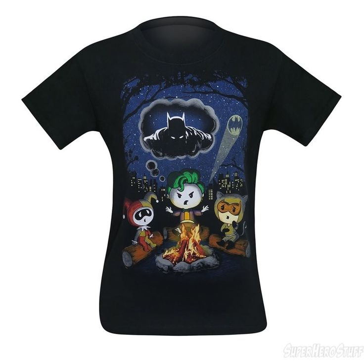 Joker's Batman Campfire Story Men's T-Shirt