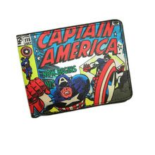 New Arrival Marvel Comics The Marvel Hero Captain America/ Spiderman/ X-MAN Wallet for Young People Students Card Holder Purse //Price: $US $4.49 & FREE Shipping //    #tonystark #blackwidow