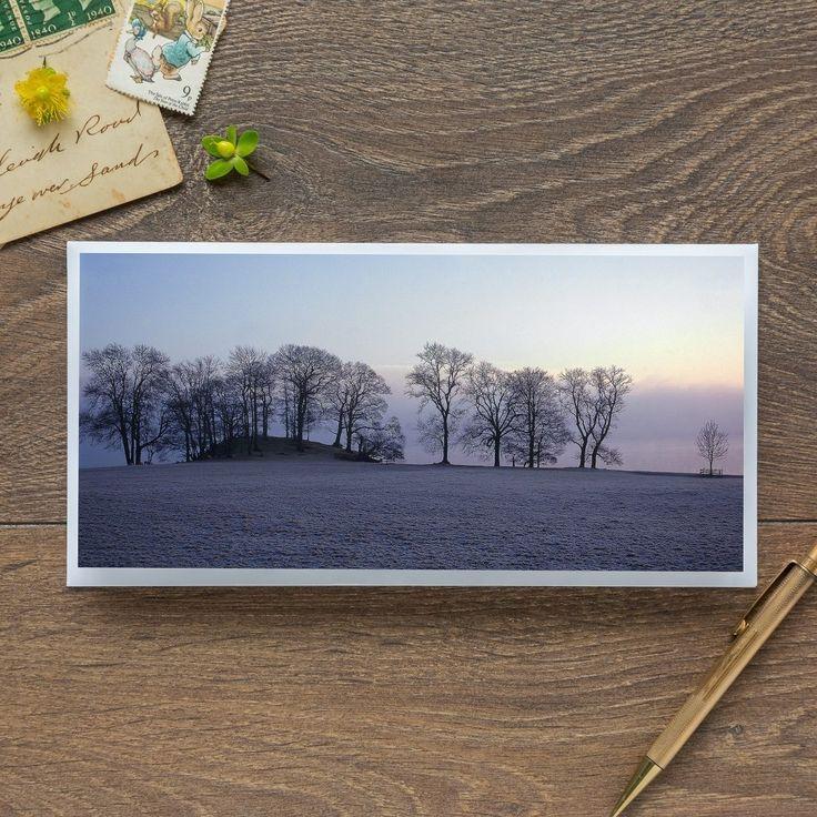 Single Blank Card by landscape photographer Nina K Claridge – Windermere at Dawn