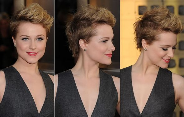 evan rachel wood, short hair~if only I ha the guts! I love this cut  I could rock this! Do it....
