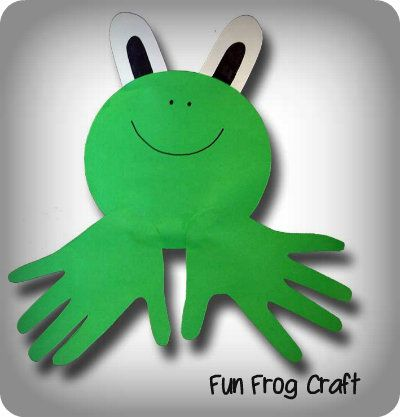 Frog Theme for Kindergarten | Fun frog craft for preschoolers and young kids