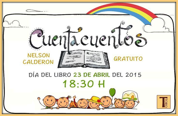 ¡23 DE ABRIL, DÍA INTERNACIONAL DEL LIBRO! #tororegalos #cuentacuentos #libro