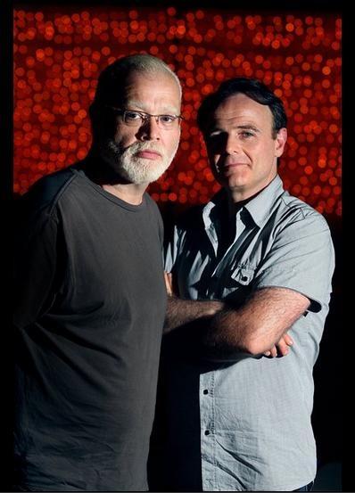 La Última Sesión de Freud stars Jorge Suarez (Freud) and Luis Machin (Lewis)