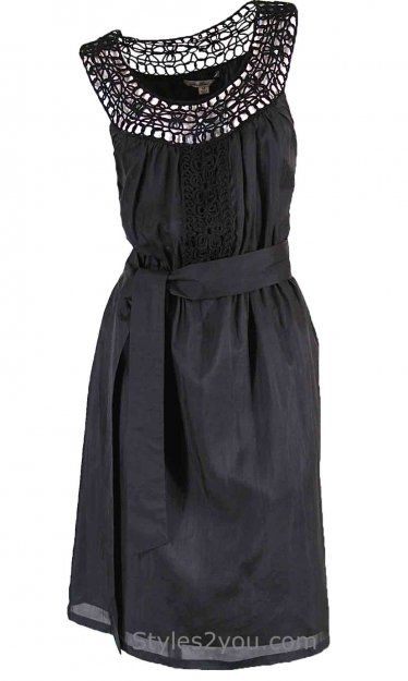 Blue Tassel Clothing Lil Black Dress