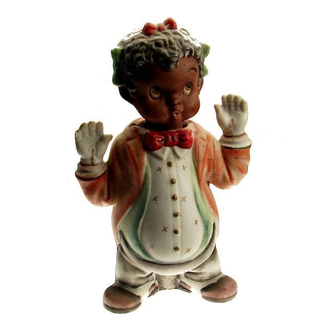 Black Americana Thames Clown Pieces by