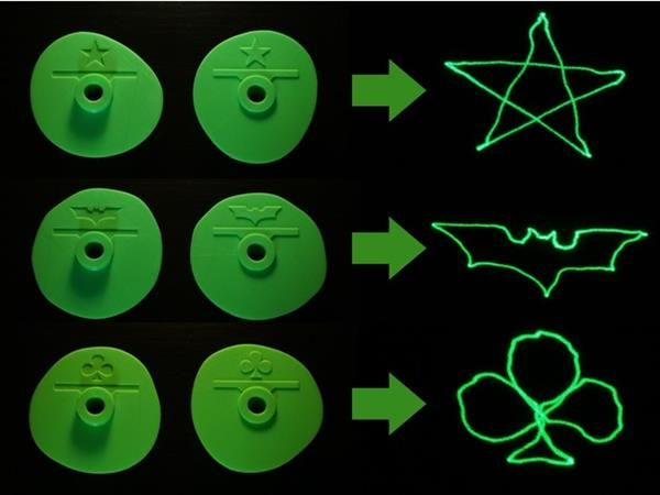 A Los Angeles-based maker has created the ultimate life hack for producing your own projected light show from the comfort of your own home. Aptly deemed 'The Mechanical Laser Show,' this fun little Thingiverse project turns a basic laser pointer into a trippy customized light show. Produce a five-point star, the Batman Logo, or a custom shape.