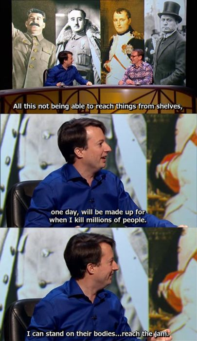 17 Best images about QI tv show on Pinterest | TVs, Sean o'pry and ...