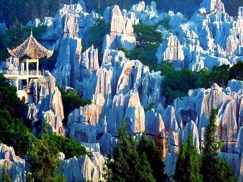 Yunnan Stone Forest, Kunming China.