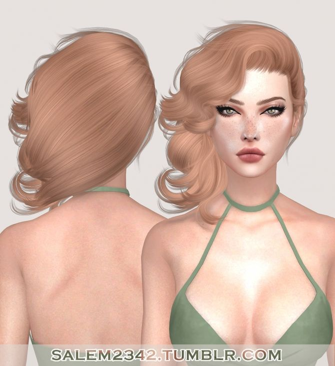 The 249 best Sims 4 cc Hairstyles Women n Kids images on Pinterest ...