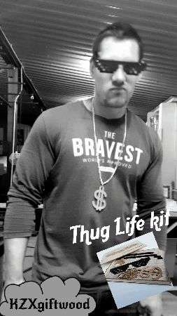 Thug life kit gif animation. #thuglife #animation #funny #memes #gifts #partyideas #partygift