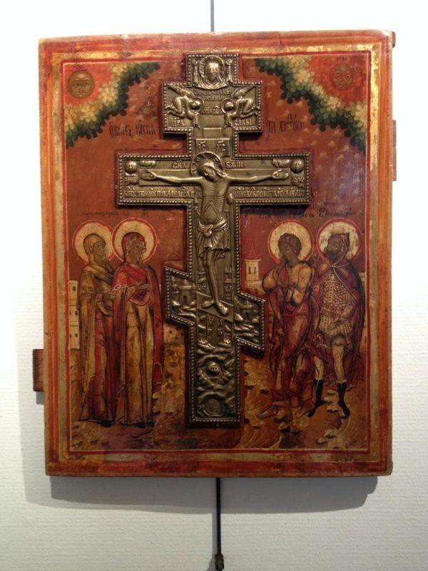 Icône russe vers 1800 - Tableaux religieux - Paris Ile de France - Tableaux religieux