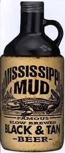 Mississippi Mud Black & Tan Beer and Slow Brewed Lager Beer - First tried while wading in Green Bay, Wisconsin
