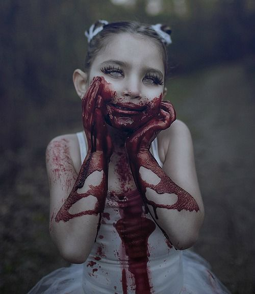 cute and creepy