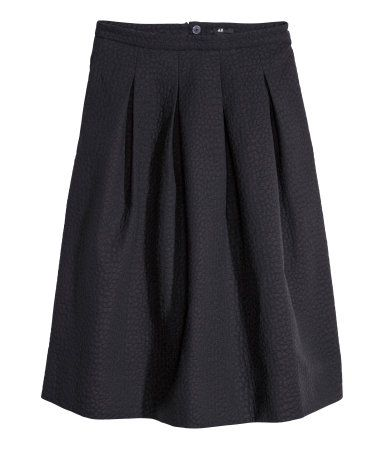 H&M midi skirt. July 2015