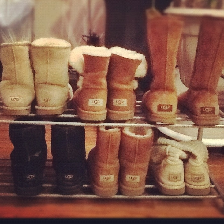 It's with a heavy heart that I say... Uggs are done. And have been for awhile.