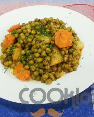 Αρακάς λαδερός με ανάμεικτα λαχανικά - Cooklos.gr