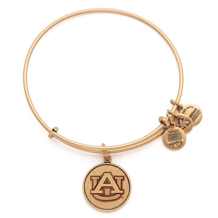 Have to have this one!!!!  If I finish the semester, this is happening.   Auburn University® Logo Charm Bangle
