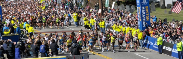 Boston Marathon...  I don't care if I don't qualify till I'm 50...  I want to do this race and I want that gosh darn jacket.