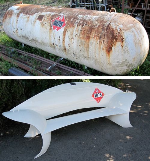 Creative Ideas For Reusing Old Propane Tanks More
