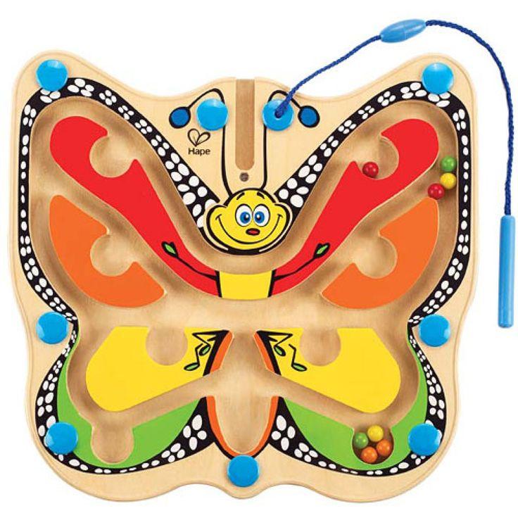 Farfalla Volteggiante Colorata - Hape - E1704 | lalberoazzurro.net