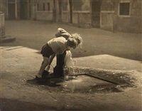 Jan Lauschmann  Thirsty children, 1935