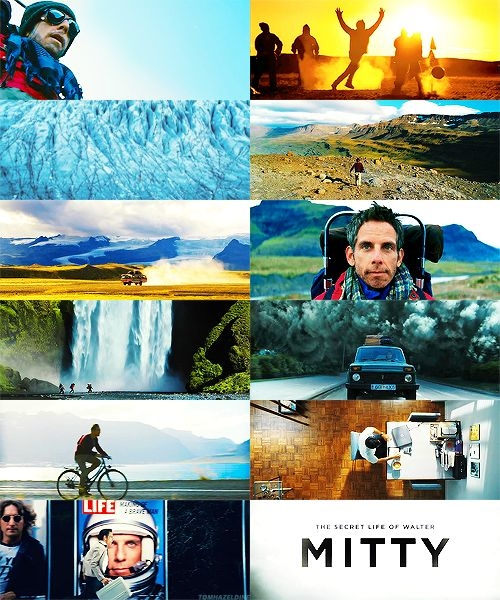 The Secret Life of Walter Mitty -- this movie, omg. Why wasn't it nominated for anything major?!