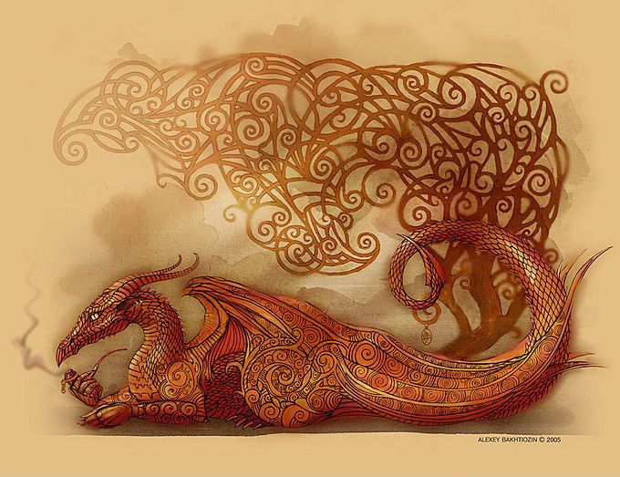 In Serbia and the other South Slavic countries there is a division between two types of dragon-like creatures... http://en.wikipedia.org/wiki/Slavic_dragon