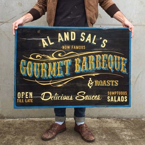 Vintage inspired Sign artist   Tj's been pulling dagger lines since he started building his first hot rod with his dad at the tender age of 15.Ten years later his still doing what he loves plus a whole lot more.This blog is all about life,loves and art.Spending his days designing and covered in paint with his two crazy boys and darling wife.Fueled by coffee and ideas... he's living the dream.  contact TJ   phone: 0401 286 631 email: tjguzzardi@gmail.com instagram @tjguzzardi