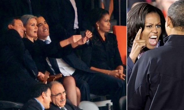 Is the Obama marriage on the rocks?