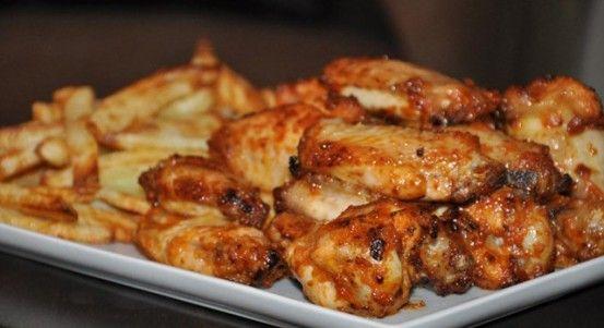 Ballı Soslu Tavuk Kanatları Tarifi | Yemek Tarifleri