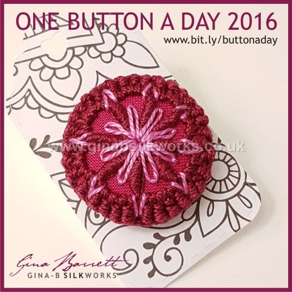 Day 285: Fiore #onebuttonaday by Gina Barrett