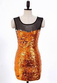 buy orange sequin dress - Google Search